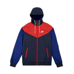 40b2a492fa Image is loading Nike-Sportswear-Windrunner-Jacket-727324-452-Obsidian-Blue-