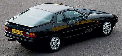 924 Turbo rear decal in BLACK Genuine high quality /& original size