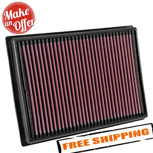 K/&N Filters 33-2118 Washable and Reusable Car Replacement Air Filter