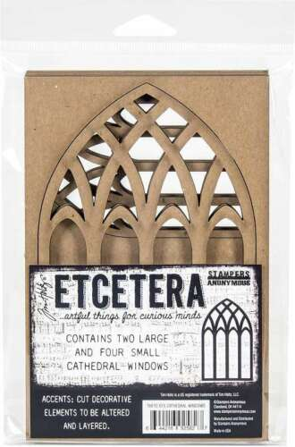 Tim Holtz Ecetera Cathedral Windows   644216925827