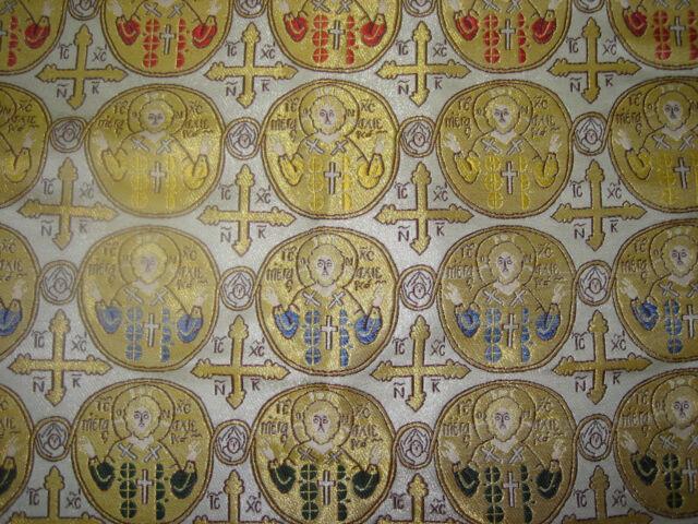 Church Liturgical Vestment  Brocade Gold - liturgische Gewänder Brokat Gold