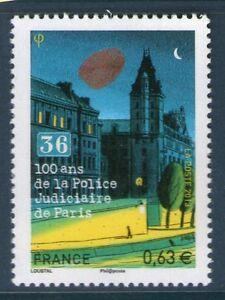 TIMBRE-4796-NEUF-XX-LUXE-100-ANS-DE-LA-POLICE-JUDICIAIRE-36-QUAI-DES-ORFEVRES