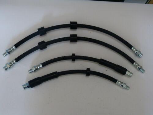 4 x Bremsschlauch//Bremsschläuche vorne und hinten für BMW 5er E39 Touring