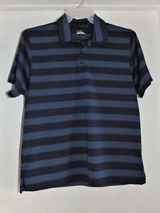 1a439c5b Under Armour Men's Short Sleeve Heat Gear Polo Shirt Blue Stripe ...