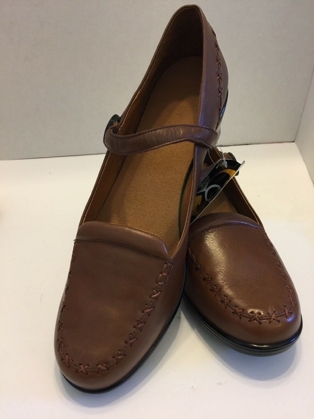 Dr Comfort Women's 12XW Shoes Cathy Brown Push In Knob Button Closure
