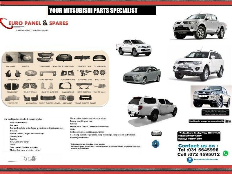 SPECIALISING IN MITSUBISHI AUTOMOTIVE NEW PARTS.Body Parts,Accessories