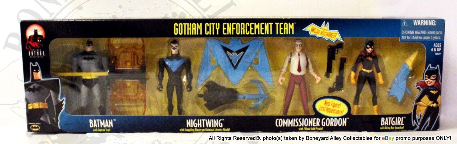 Batman durch exklusive gotham city durchsetzung misb  neu  rare-hasbro