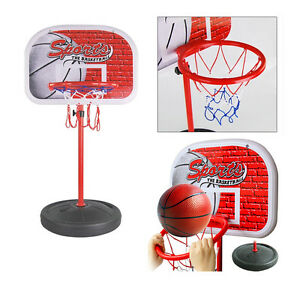 mini basketballkorb 85 165 cm basketballst nder soprt korb geschenk f r kinder ebay. Black Bedroom Furniture Sets. Home Design Ideas