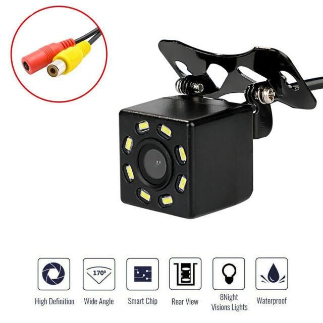 8 LED HD Car Rear View Reverse Backup Camera Parking Night Vision Waterproof AU