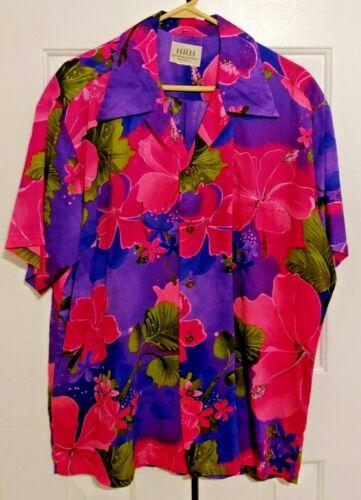 HRH His Royal Highness Floral Hawaiian Shirt Made