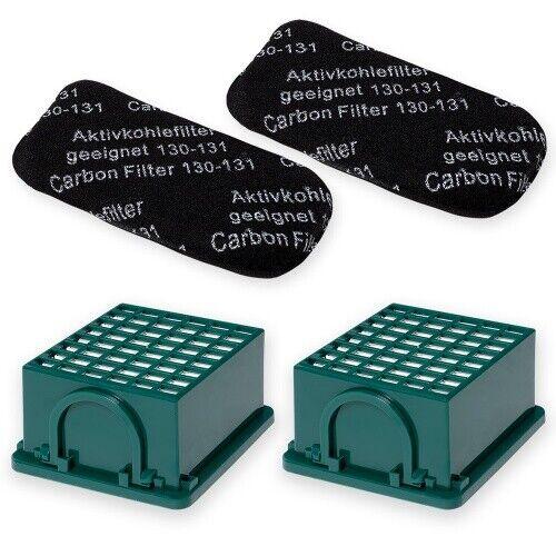 Filterset passend für Vorwerk Kobold 130 131 bestehend aus 4 Filtern