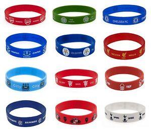 Bracelet officiel en caoutchouc du club de football Chelsea