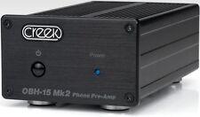 Creek Audio OBH-15 Mk2 Phono Stage Pre-Amplifier Black