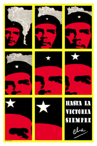 3164.Always onward to victory.Che Guevara's political POSTER.Decorative wall Art