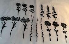 1 664163 Tim Holtz Sizzix Thinlits Die Set 5PK Wildflower Stems Nr