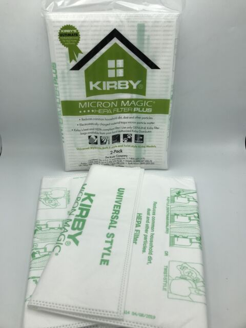 KIRBY MICRON MAGIC HEPA FILTRATION FILTERS STYLE F- 2 PACK (4 Total Filters)