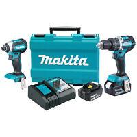Makita Xt269m 18-volt 4.0 Ah Lxt Lithium-ion Brushless Cordless Combo Kit - 2pc on sale