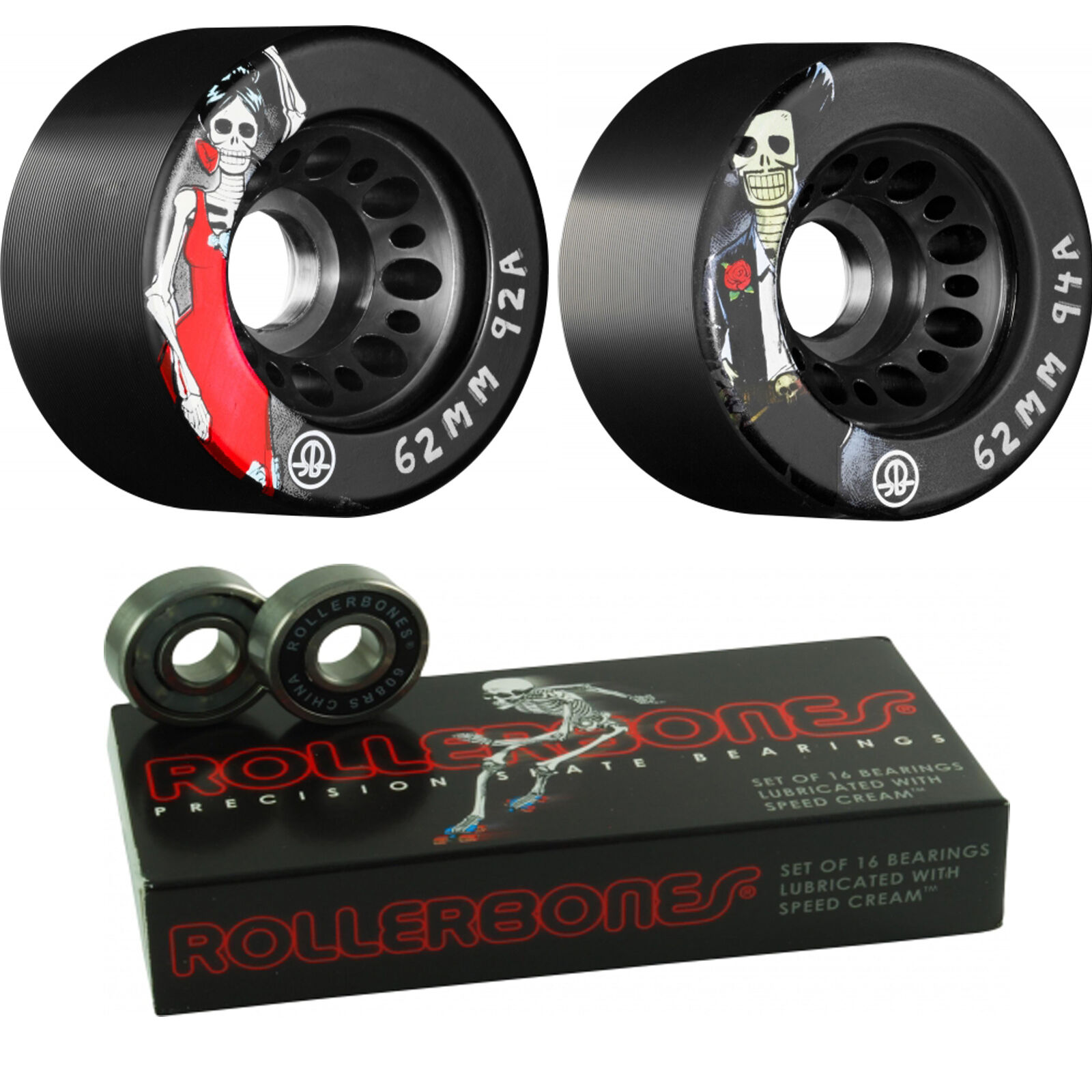 Roller S   Wheels and Bearings - Day Of The Dead with Rollerbones  designer online