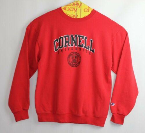 Champion Cornell University Red Crewneck Sweatshir