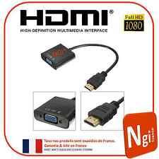 NGI-1080P HDMI Mâle vers VGA Femelle Video Convertisseur Adaptateur