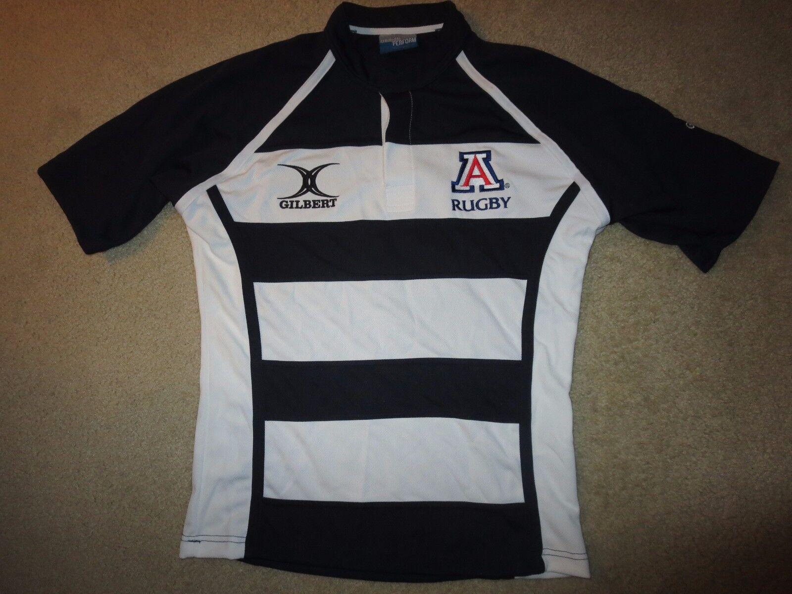 Arizona wildcats rugby team  12 pac 12 game worn Gilbert shirt lg long