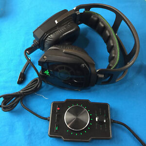 Razer Tiamat 7 1 Elite Surround Sound Over Ear Pc Gaming Headset Ebay