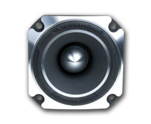 "2 Pack 2/"" Inch 600 Watt Titanium Car Audio Super Tweeter Audiopipe ATR-4061"