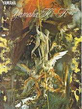 Yamaha HiFi folleto catálogo dsp-a2070 cx-1 mx-1 mx-2 cx-2 ax-1070 kx-670