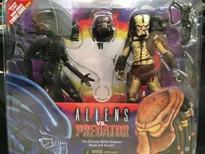 Nouveau Dark Horse Comics / Figurines Kenner Alien Vs Predator - Neca Pack à l'échelle de 7 Scale Neca Pack