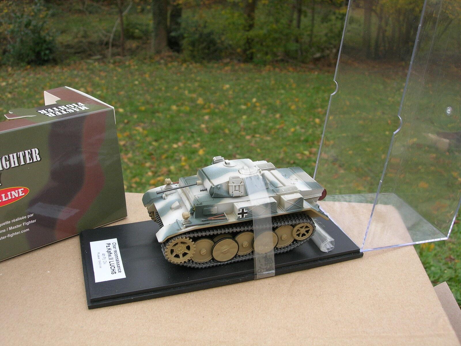 MASTER FIGHTER 1 48 TANK CHAR Pz.Kpfw II Ausf.L Luchs   Lynx Sd.Kfz 123 48566HI