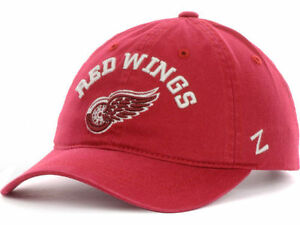547faf4cb23b1 Detroit Red Wings NHL Hockey Centerpiece Team Logo Adjustable Slouch ...