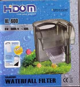 External-Hang-On-Aquarium-Waterfall-Filter-600lph