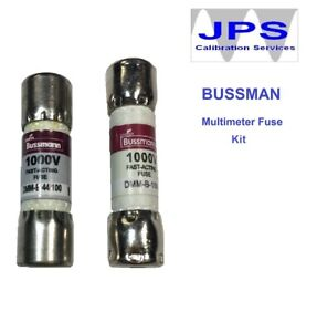 Fluke-187-Digital-Multimeter-Replacement-fuse-set-Bussmann-DMM-B-44-100-JPSF428