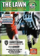 Football Programme>FOREST GREEN ROVERS v CANVEY ISLAND Nov 2005