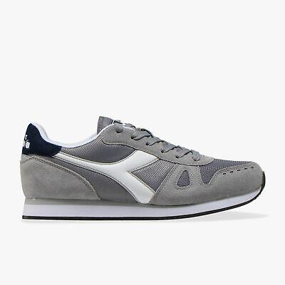 Diadora Simple Run Scarpe Uomo Sneakers Running Camoscio Nylon Ice Gray | eBay