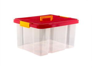 Eurobox-Stapelbox-Lager-Box-Kiste-mit-Deckel-44x35x24cm