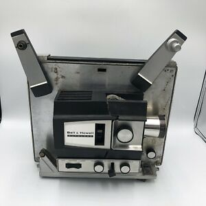 Vintage Super Bell Howell Autoload Projector 482 8mm Prop Movies Missing a Knob