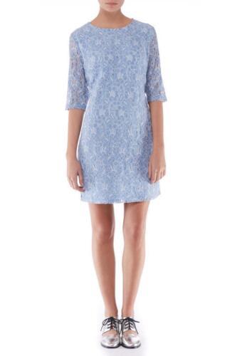 dentelle Sugarhill Boutique Mariage 8 clair Lottie 16 XL XS Tunique en formel Robe Bleu xrIrwqn4