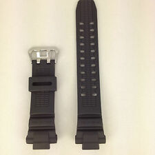 Casio G-Shock Genuine Replacement Band G-1000 G-1100B G-1500B Black Rubber Strap