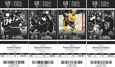 2014-2015 Los Angeles Kings Season Ticket Stubs - Mint Condition!!!