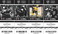 2014-2015 Los Angeles Kings Season Ticket Stubs - Mint Condition!!!