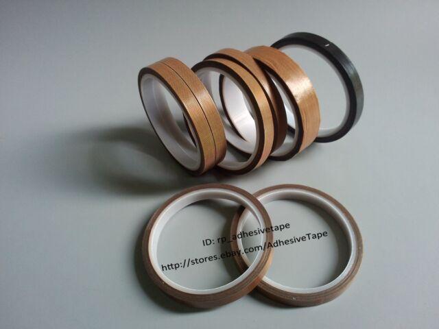 PTFE Teflon Cloth Adhesive Tape Hi-temp for Electric Insulation, Vacuum Seal 10M