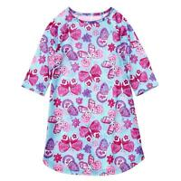 Gymboree Girls Butterfly Nightgown Purple Girls Size 2t,3-4,5/6,7/8,10/12