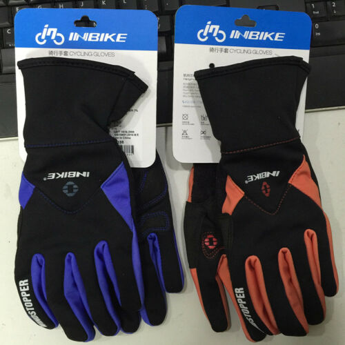 Inbike IF966 autumn and winter thick bicycle gloves ride gloves windproof gloves