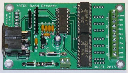 Automatic band decoder 9-outputs build cheap YAESU, Elecraft K3
