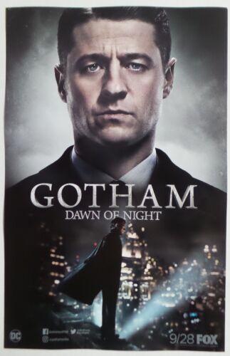 GOTHAM Dawn of Night season 4 promo poster SDCC Comic Con 2017 DC FOX