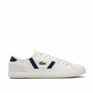 Mens-Lacoste-Sideline-119-3-Trainers-In-Off-White-Navy