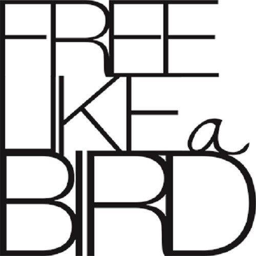 """Petite wandpoesie sticker /""""Free like a bird/"""" sticker roues"""