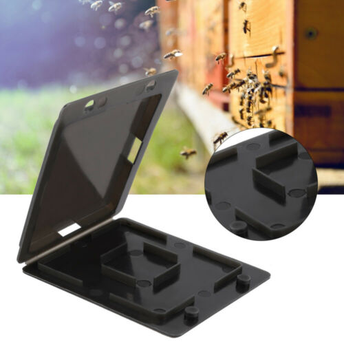 5Pcs Beekeeping Beehive Hive Beetle Trap Case Cover Nest CD Type Plastic Tool