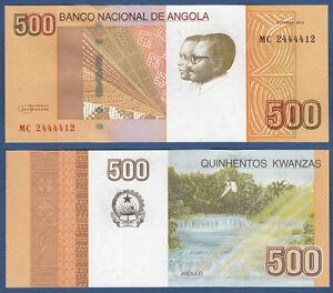 ANGOLA 500 Kwanzas 2012  UNC  P.155